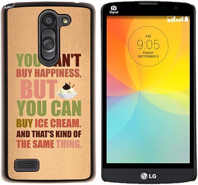 Smartphone Duro PC Carcasa para LG L primer D337/L Bello D337 ...