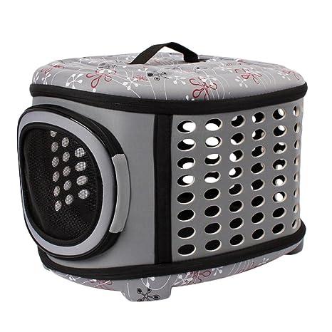 Bolsa de viaje portátil y plegable para mascotas, para viajes, viajes, al aire