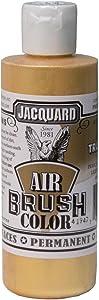 Jacquard Airbrush Color 4Oz Metallic True Gold