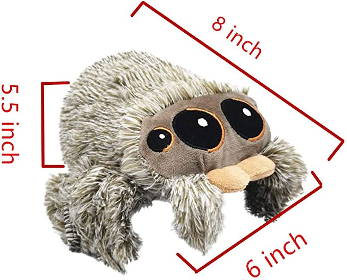 New LUCAS THE SPIDER 1ST EDITION PLUSH TOY SOFT STUFFED ANIMALS DOLL