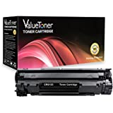 ValueToner Compatible Toner Cartridge Replacement for Canon 125 (3484B001AA) 1 Black Toner Compatible With ImageClass LBP6000, LBP6030w, MF3010 Printer