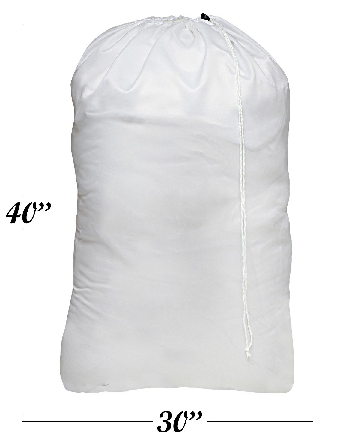 7996e40727be6 Nylon Laundry Bag - Locking Drawstring Closure and Machine Washable. These  Large Bags Will Fit a Laundry Basket or Hamper and Strong Enough to Carry  up to ...