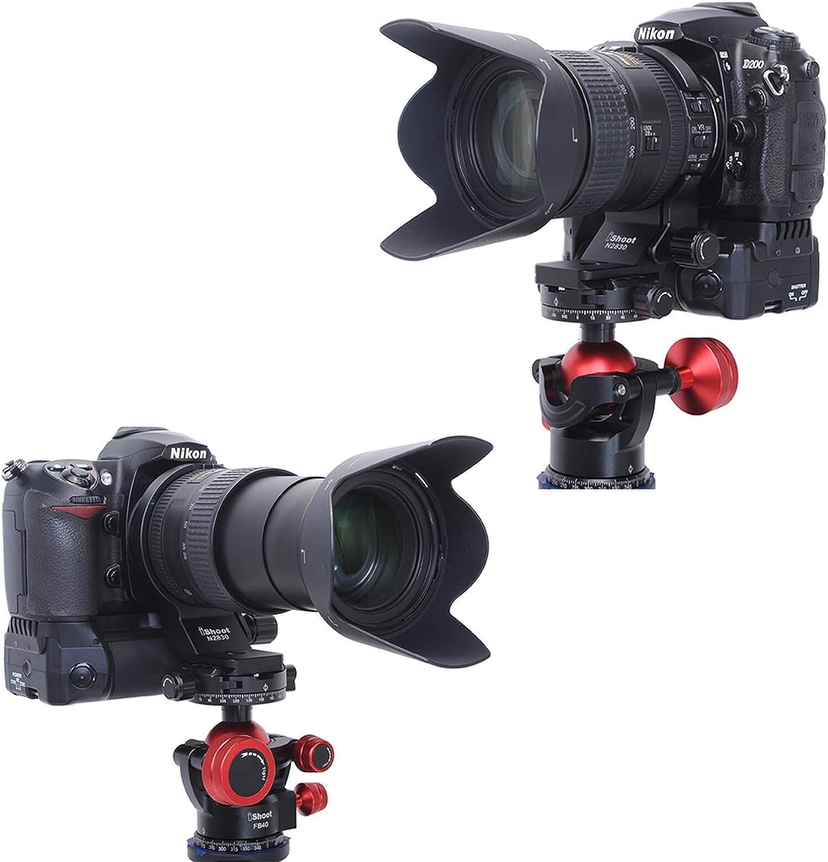 kompatibel mit Stativ-Kugelkopf von ARCA-Swiss//PMG Fit Objektiv-Kragen 74 mm Stativ-Halterungsring eingebauter ARCA Typ Schnellwechselplatte f/ür Nikon AF-S Nikkor 28-300 mm f//3.5-5.6G ED VR Objektiv