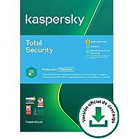 Kaspersky Total Security 2021 | 3 Dispositivos | 1 Año | PC / Mac / Android | Código de activación vía correo…
