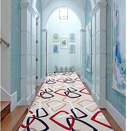 Alfombras Alfombras para escaleras Antideslizantes lavables para peldaños Alfombra con respaldo de goma antideslizante Especializada para pisos interiores Alfombras (Color : 4 , Size : 100*400cm) : Amazon.es: Hogar