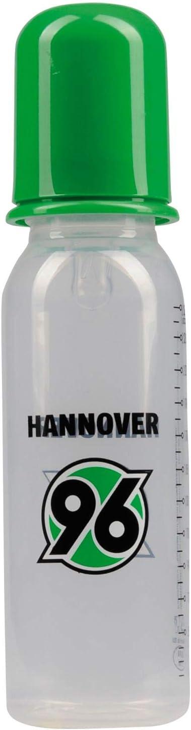 Hannover 96 Baby Trinkflasche Plus gratis Lesezeichen I Love Hannover Nuckelflasche Flasche Logo H96