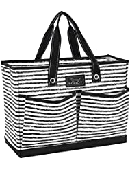 SCOUT BJ Bag, Large Multi Pocket Utility Tote for Beach and Pool, Reinforced Bottom, Water Resistant, Zips Closed