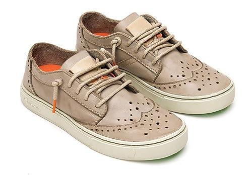 Satorisan Zapatos de Cordones de Piel Para Hombre Gris Grigio Taupe 42 43 44 45 46 Gris Size: 44: Amazon.es: Zapatos y complementos