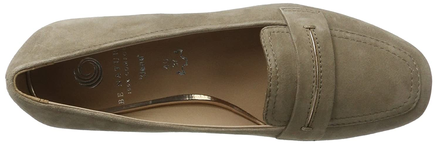 Be Natural Damen 24205 Slipper Slipper 24205 Beige (Taupe 341) e9977e