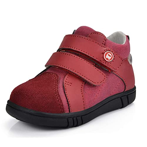 2a1dc5562 Zapatos Casuales para niños Zapatos de tacón Alto Planos de Cuero Genuino  Cómodos y Transpirables Zapatos de Ocio  Amazon.es  Zapatos y complementos