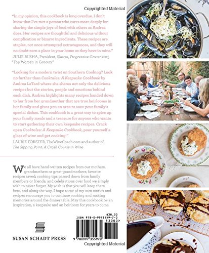 Andreas Cooktales: A Keepsake Cookbook. Learn New Recipes, Treasure Old Ones