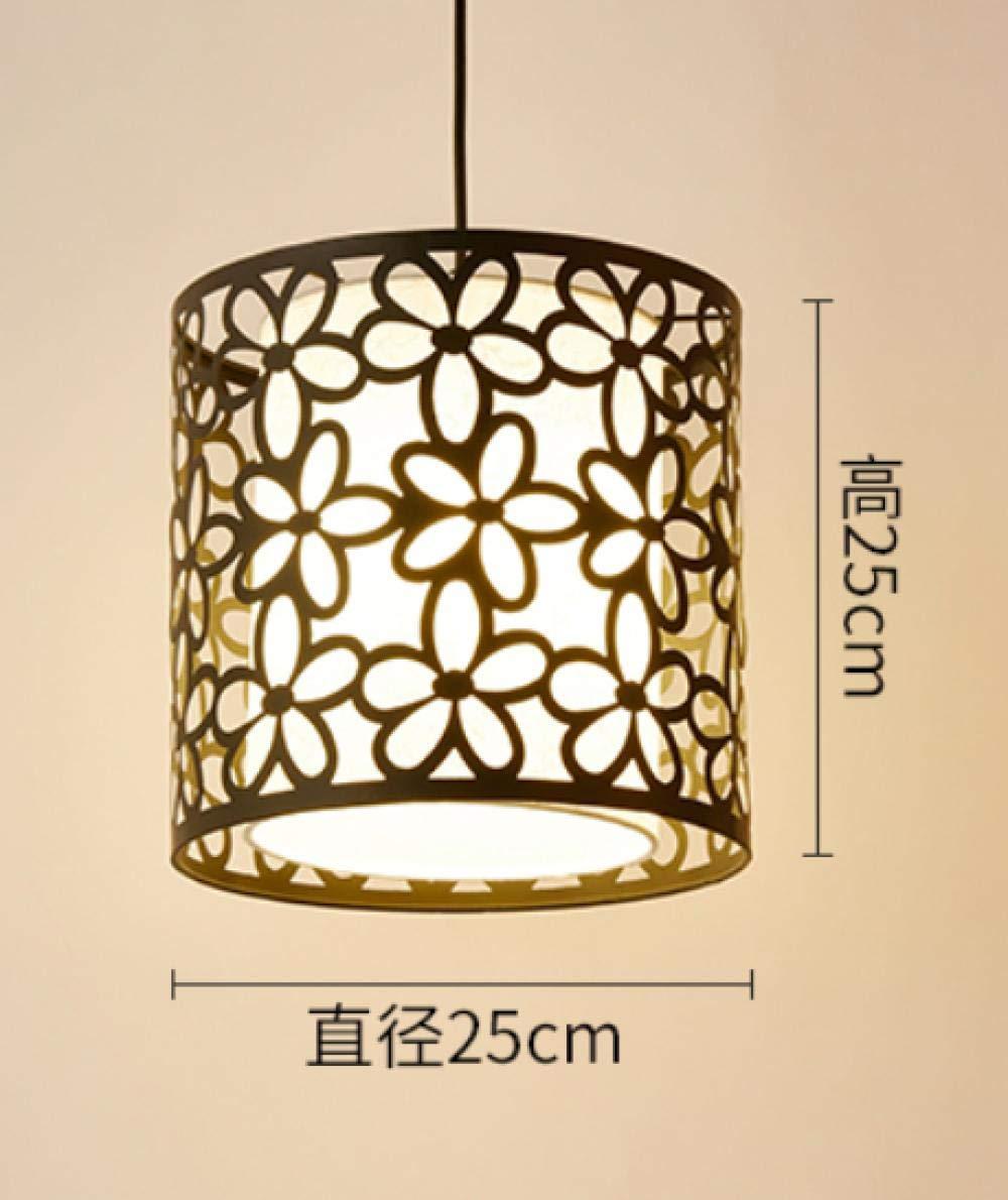 XIONGXI Lustre Noir Moderne Lampe décorative Lampe Creuse Lustre plafonnier