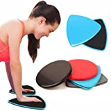 Glidering Sliding Discs Exercise Fitness Core Sliders Sports Workout Training 2 PCS