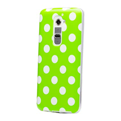 Amazon.com: iCues | Compatible with LG G2 | Polka Dot Case ...