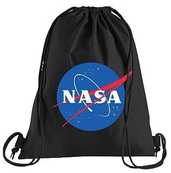 Camiseta de People NASA Logo Bolsa de Deporte - Serigrafiado ...