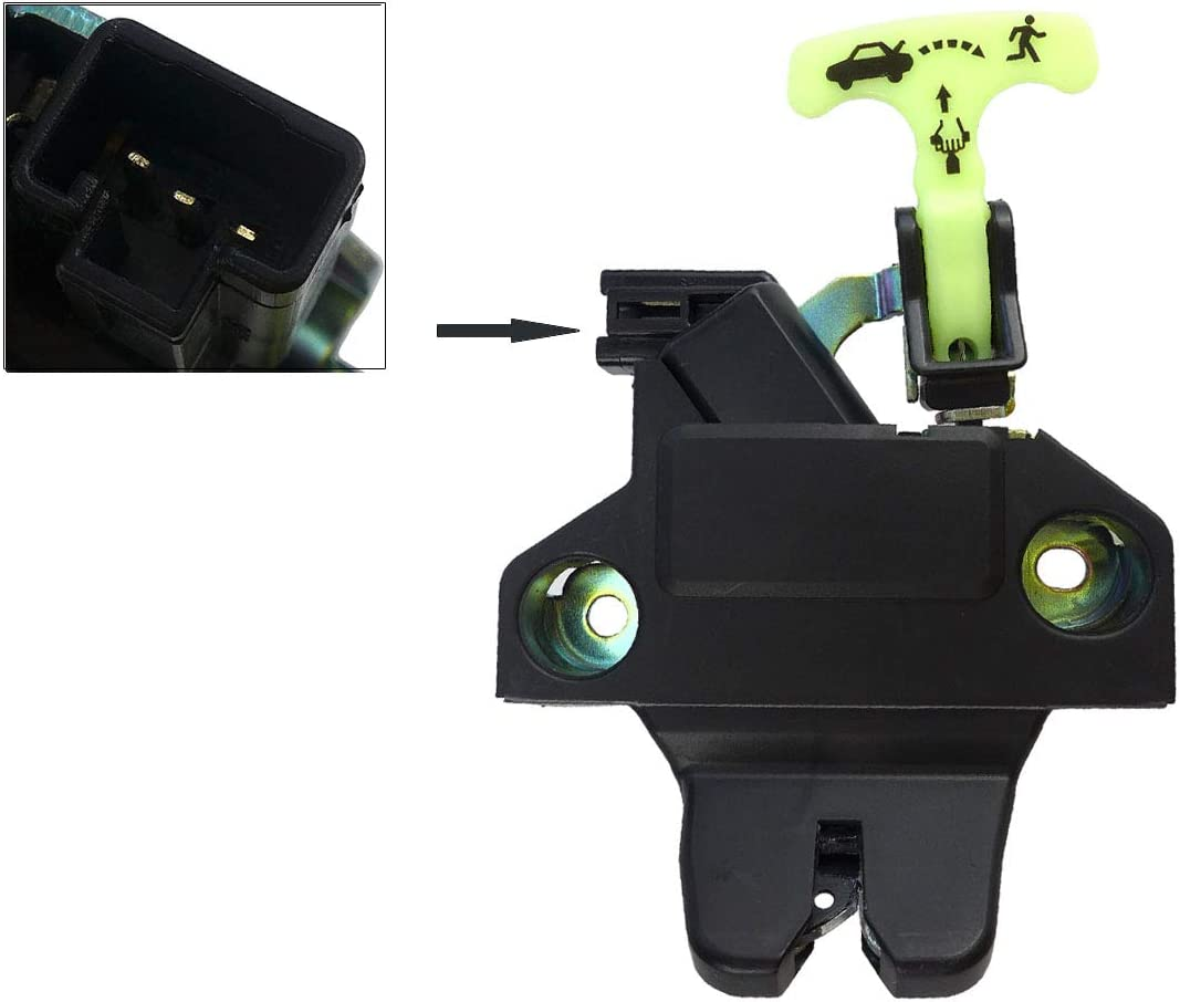 TIKSCIENCE Latch Trunk Door Lock,Fit for 2009-2010 Toyota Corolla,for 2009-2010 Toyota Corolla,for 2009-2013 Toyota Corolla,Tailgate Latch Lock Tail Gate Actuator Replace 6460002040