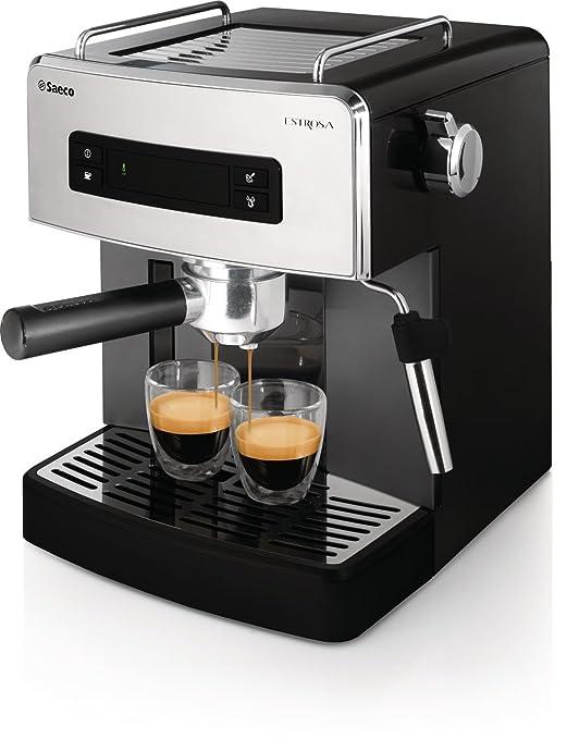 Philips Saeco HD8525/09 - Cafetera (Independiente, Negro ...