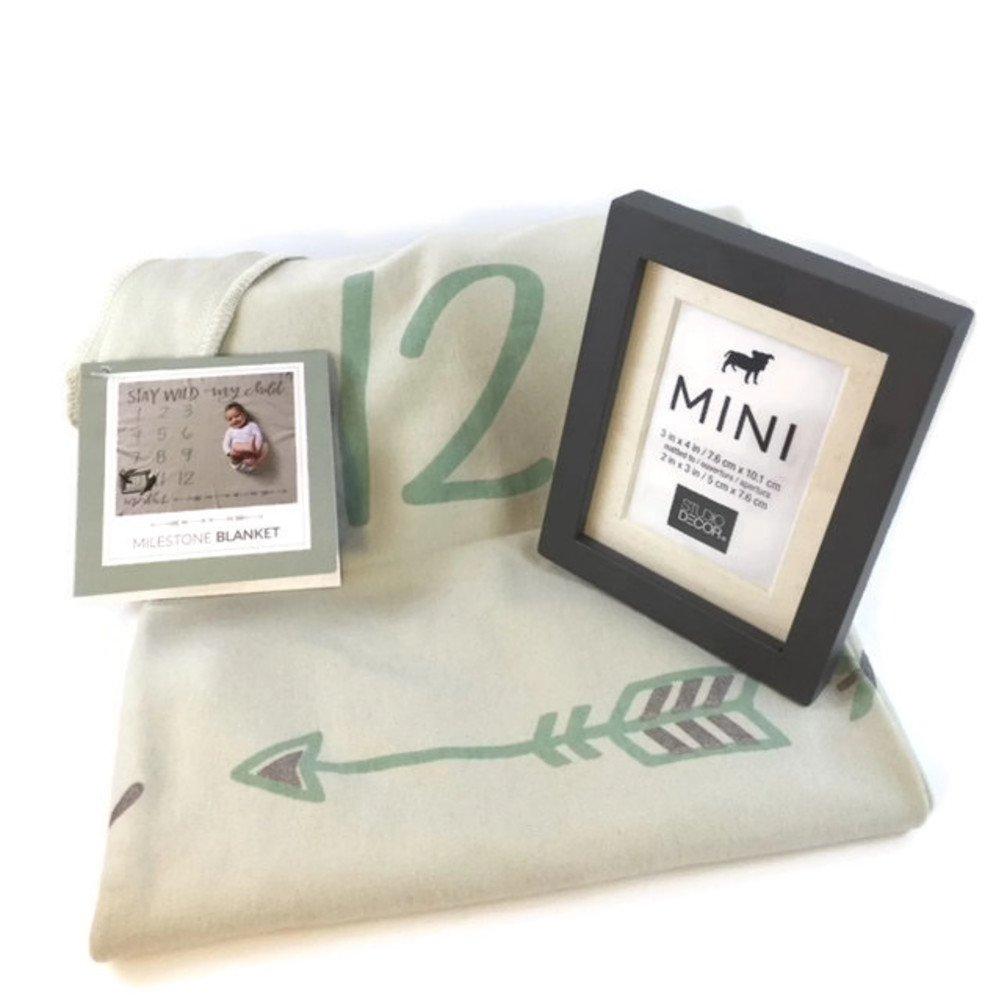 Amazon com: Baby Milestone Blanket Photography Background