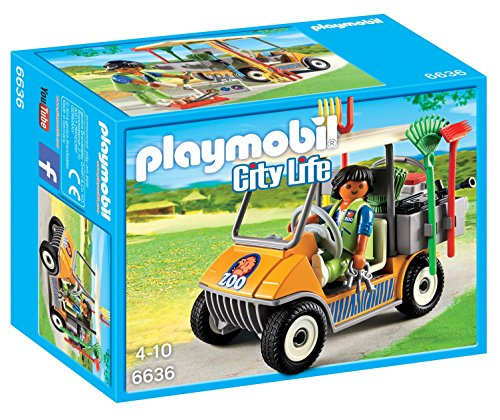 PLAYMOBIL Zookeeper's Cart (Playmobil Zoo)