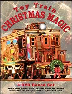 Toy Train Christmas Magic 4 DVD Boxed Set