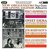 Four Classic Albums - Percy Humphrey Crescent City Joymakers / Robinson's New Orleans