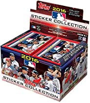 MLB 2016 Topps Sticker Collection Refill Box, Small, Black