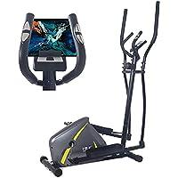 ISE Cross Trainer magnético elíptico, bicicleta de ejercicio para el hogar con sensor de pulso, 8 niveles de resistencia…