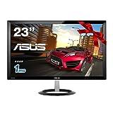 【Amazon.co.jp限定 】 ASUS ゲーミングモニター 23型フルHDディスプレイ (応答速度1ms / HDMI×2,D-sub×1 / スピーカー内蔵 / 3年保証) VX238H-P