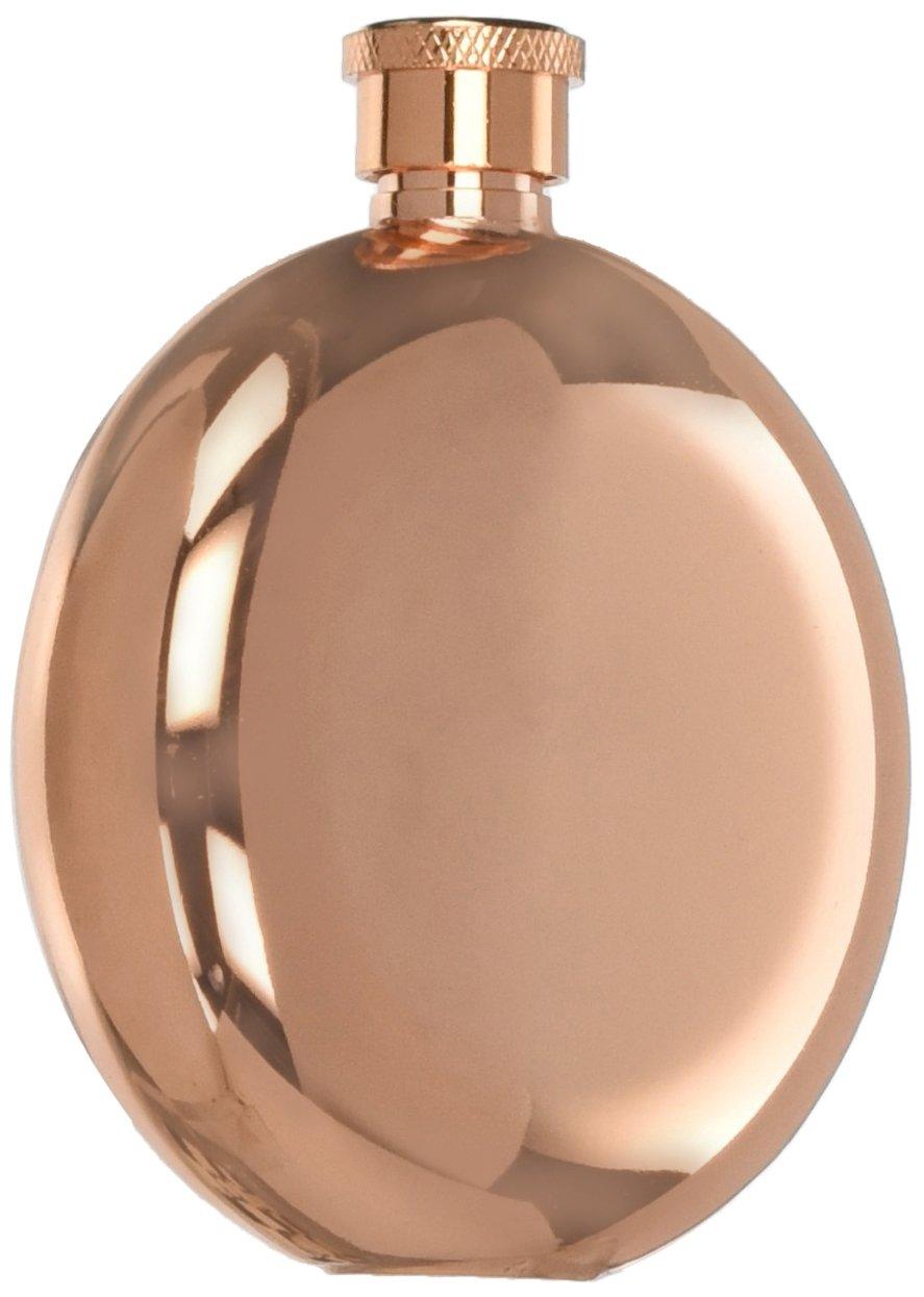 Weddingstar (7073-56) Polished Flask, Rose Gold