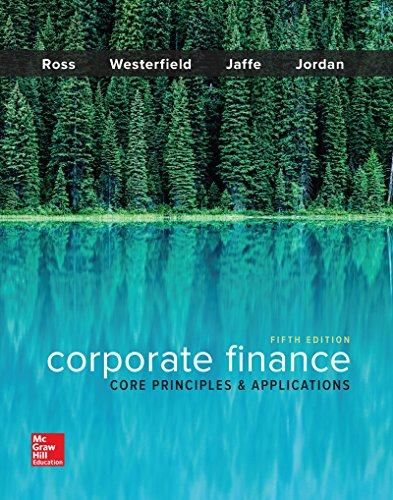 corporate finance core principles and applications Access corporate finance: core principles and applications 3rd edition solutions now our solutions are written by chegg experts so.