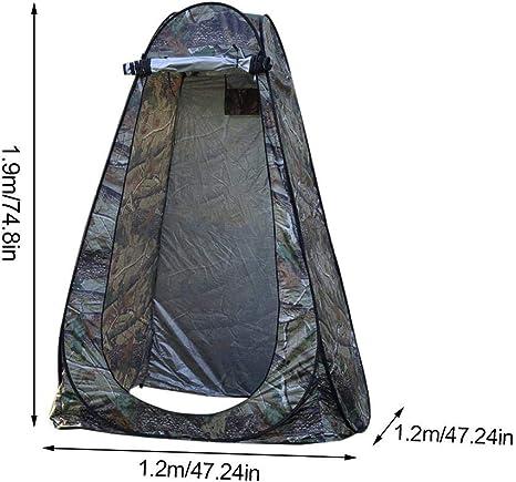 Carpa emergente portátil al aire libre Camping Playa Aseo ...