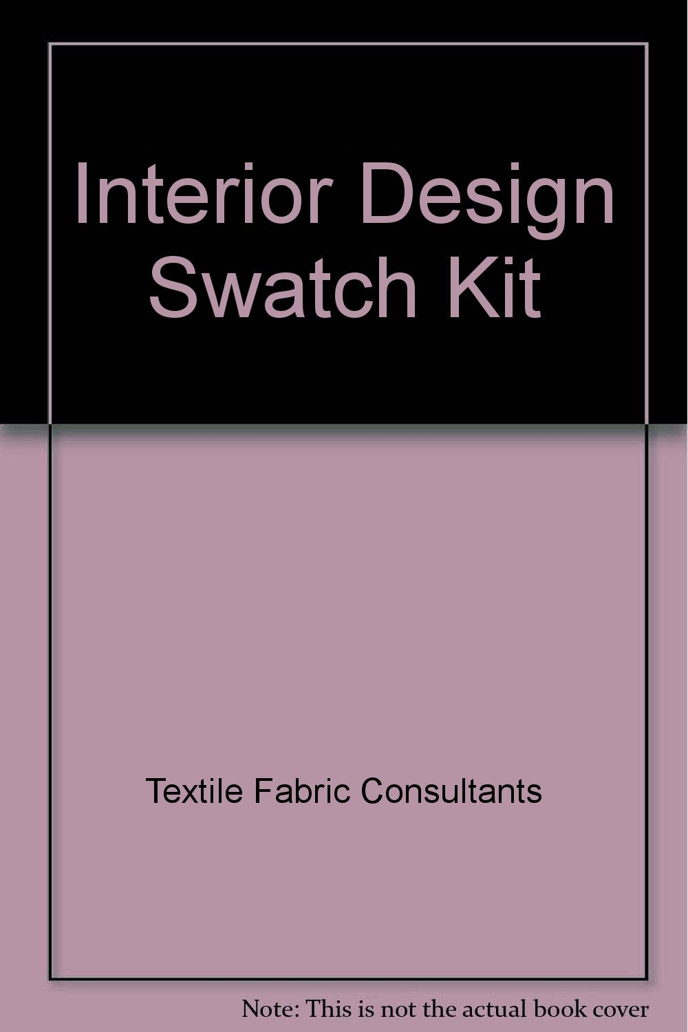 Interior Design Swatch Kit Amazonca Textile Fabric Consultants Books