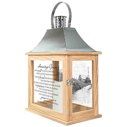 Amazon Com Carson Amazing Grace Memorial Lantern Home Decor Home