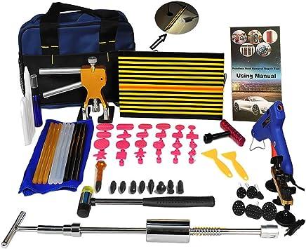 18Pcs Set Car Body Panel Paintless Dent Removal Repair Puller Tool Hammer Kits