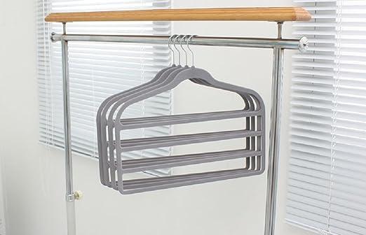 Organizar it All 4-slack, la percha para pantalones/falda percha ...