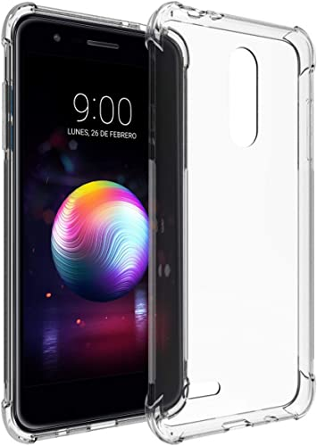 Tumundosmartphone Funda Gel TPU Anti-Shock Transparente para LG K9 ...