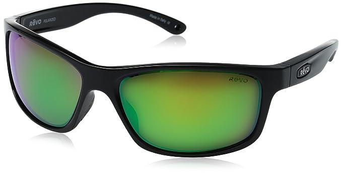 ac57b1472f Revo Harness RE 4071 01 GN Polarized Wrap Sunglasses