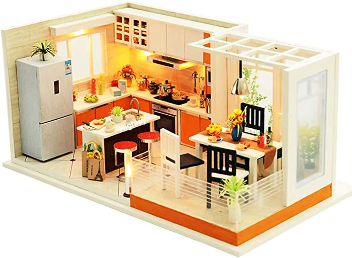 Top 7 Mini Dollhouse With Furniture Assembled