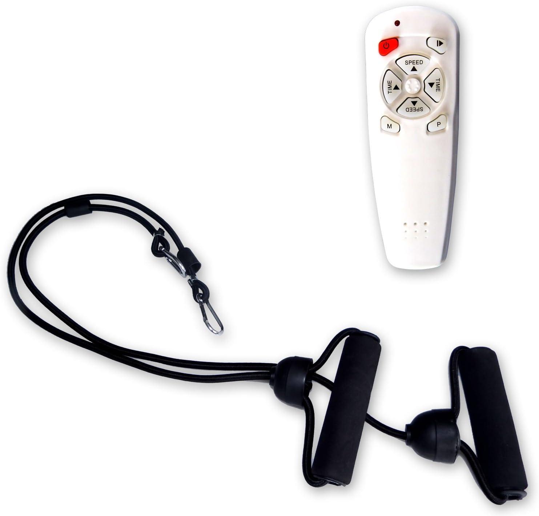 ATIVAFIT/Fitness/Vibrationsplatte/mit/Anti-Rutsch Ultraflache//Vibration/Shaper/Platte/mit/LCD/Display,/Fernbedienung,/Trainingsb/änder