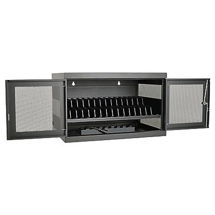 Tripp Lite 16 Port AC Charging Storage Station Cabinet For Chromebooks,  Laptops U0026 Tablets