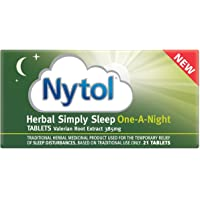 Nytol Herbal Simply Sleep One A Night Tablets, 21-Count