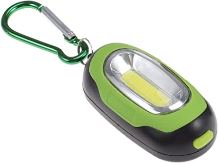 Luz de Camping Práctico portátil Mini LED Linterna Llavero ...