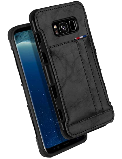 brand new 741b1 98a60 Amazon.com: Galaxy S8 Wallet Case, GOOSPERY Protective PU Leather ...