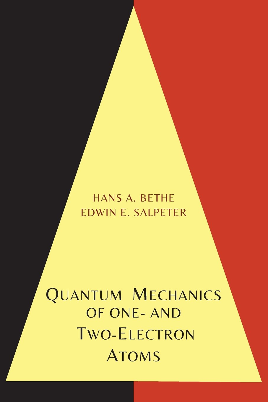 Download Quantum Mechanics of One- And Two-Electron Atoms pdf