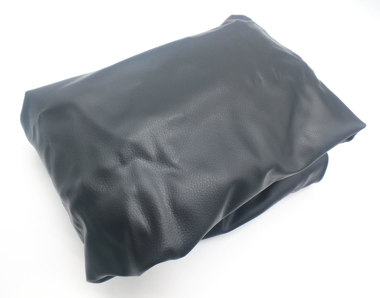 Black PU Leather Spare Tire Cover Fit for Diameter 27 to 30 FDIO 5558997343