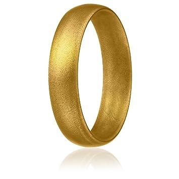 Amazon.com: ROQ Anillo de boda de silicona para mujer ...