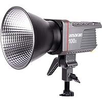 Amaran 100X dwukolorowe oświetlenie LED wideo, 130 W, 2700 k-6500 K, 34300 luks@1m, obsługuje sterowanie aplikacją, 9…