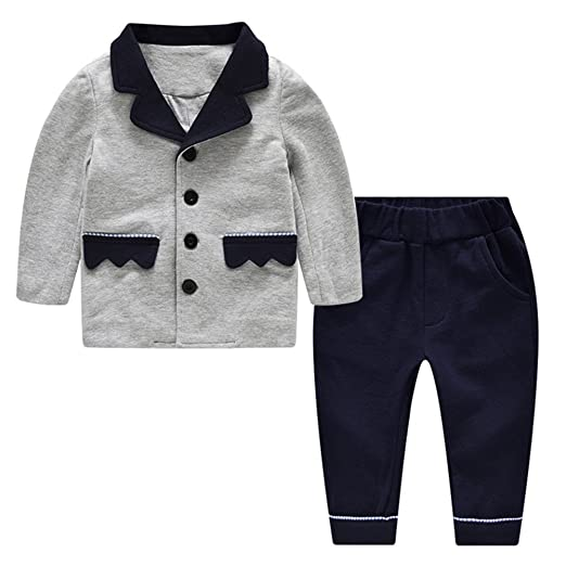 73690d53693f4 Auro Mesa Infant Boys Clothing Set Casual Boys Suit Cotton Tops With Pants  Children Outfits For