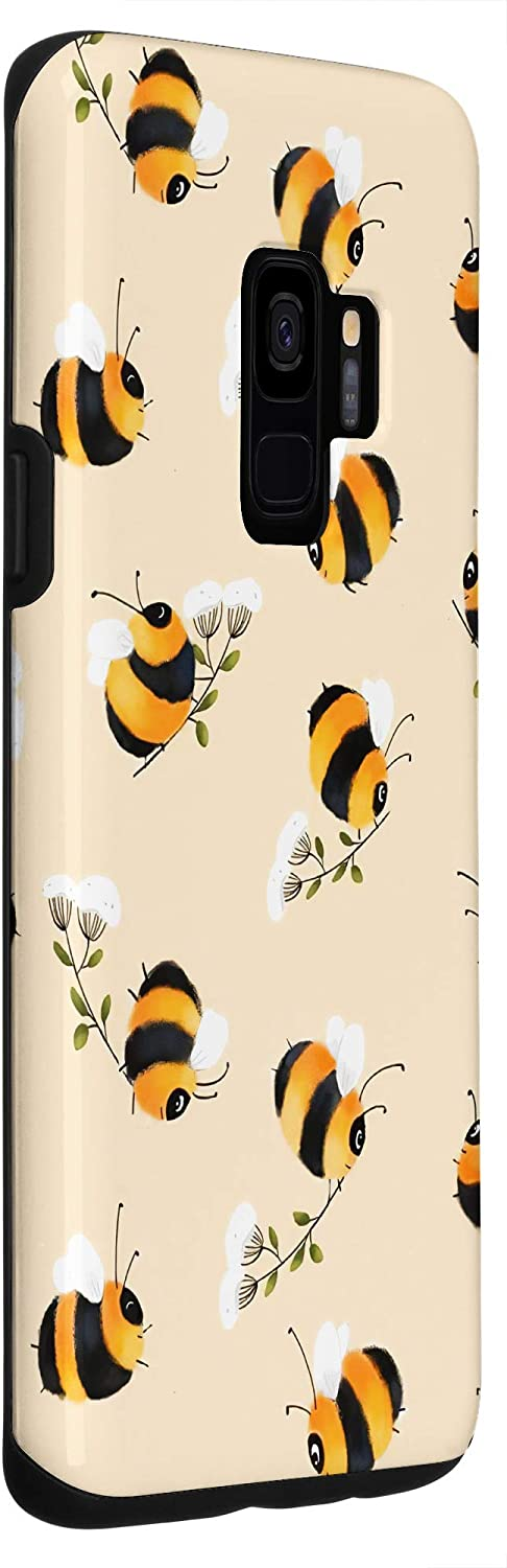Bees and daisies print Phone Case flowers phone cases floral A9 case honey S9 case botanical A70 case bee 11 pro case daisies  Note 9 Case