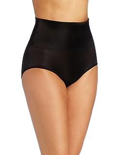 43ef96637b Heavenly Shapewear Women s Mid Waist Tummy Control Brief at Amazon ...